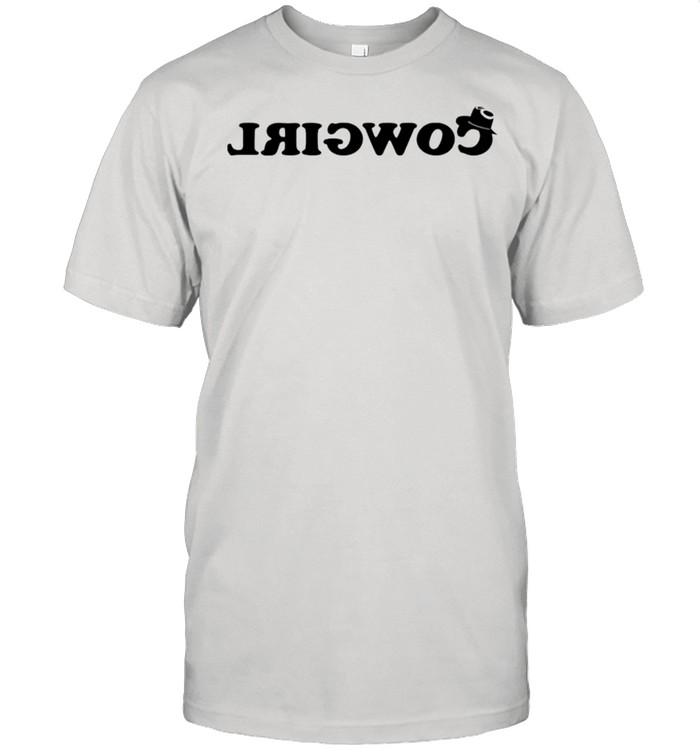 Cowgirl ride backwards shirt Classic Men's T-shirt