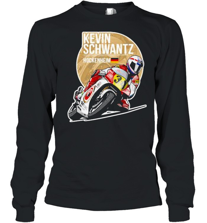 Kevin Schwantz 1991 Hockenheimshirt Long Sleeved T-shirt