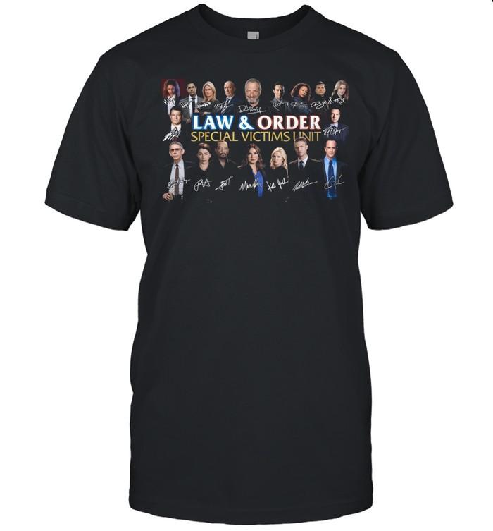 Law And Order Special Victims Unit Signatures shirt Classic Men's T-shirt
