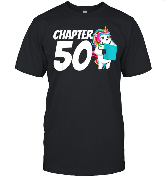 50th Birthday 50 Years Old Reading shirt Classic Men's T-shirt