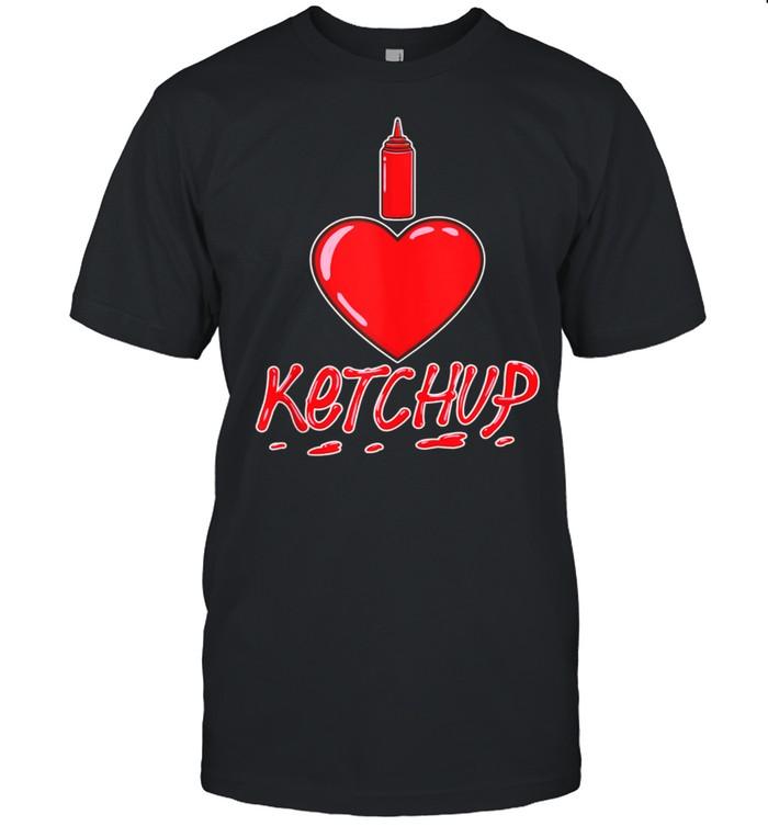 I Love Ketchup shirt Classic Men's T-shirt