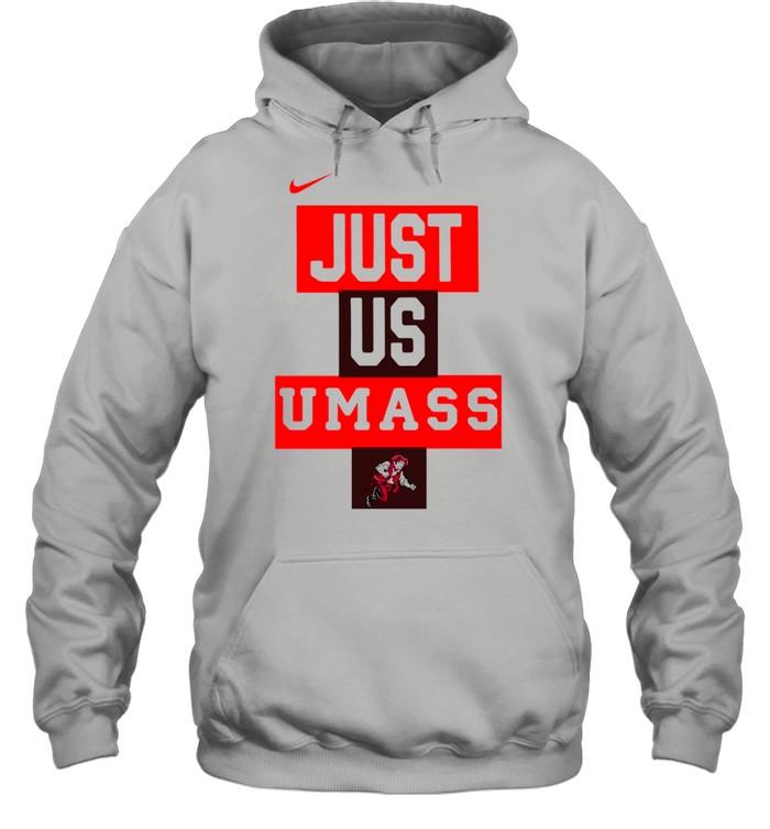 UMass Minutemen Nike Just Us UMass shirt Unisex Hoodie
