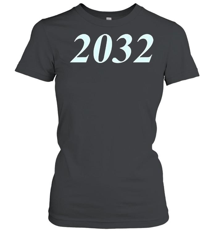 2032 shirt Classic Women's T-shirt