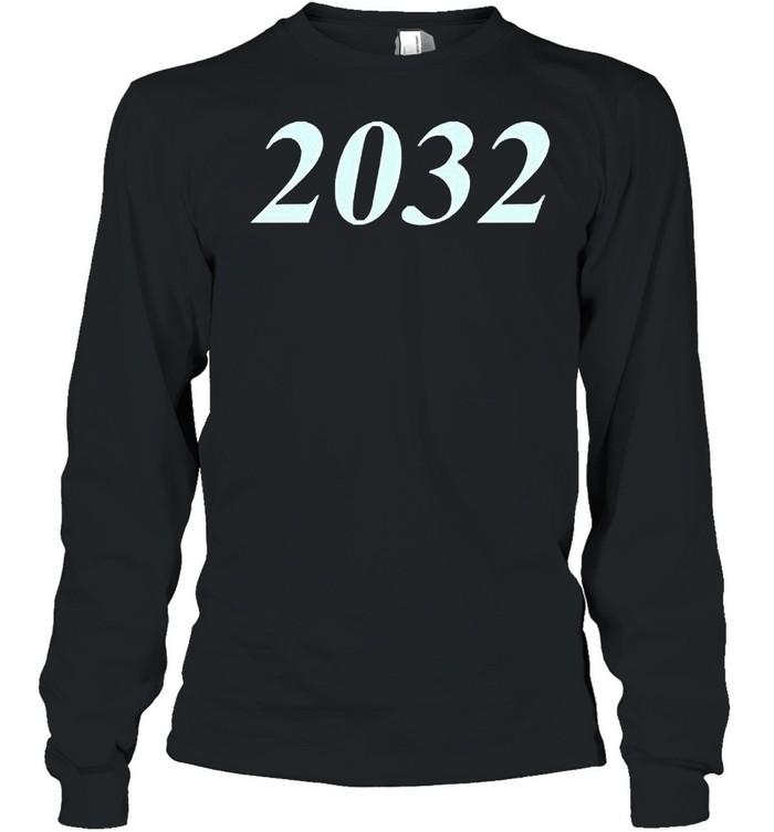 2032 shirt Long Sleeved T-shirt