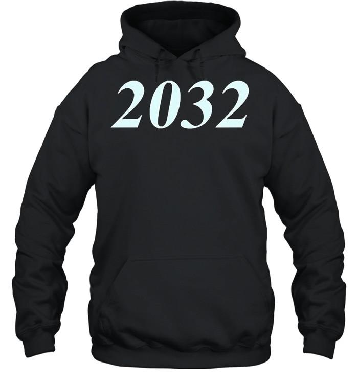 2032 shirt Unisex Hoodie