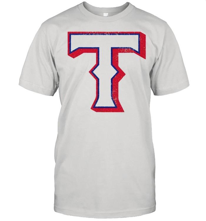 Vintage Texas Baseball T Distressed  Classic Men's T-shirt
