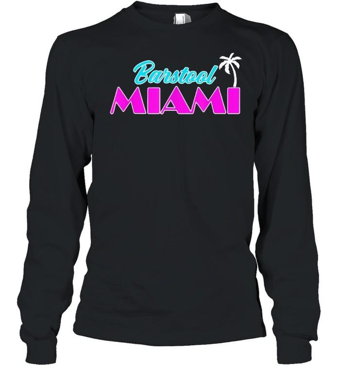 Barstool Miami  Long Sleeved T-shirt