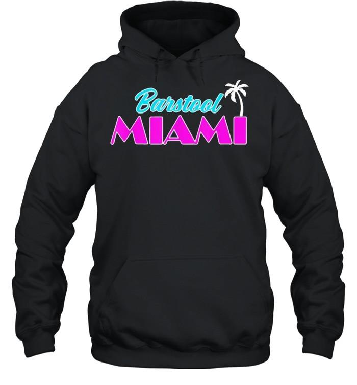 Barstool Miami  Unisex Hoodie