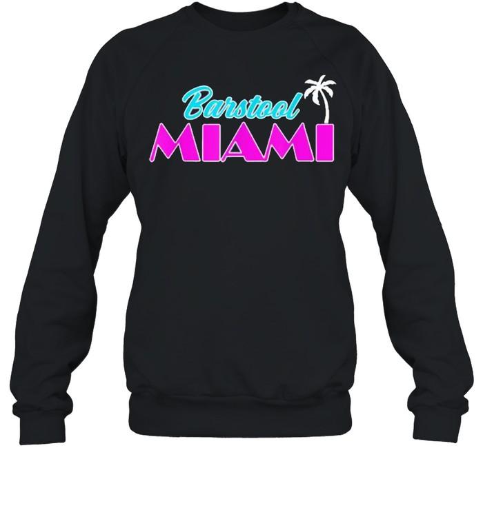 Barstool Miami  Unisex Sweatshirt
