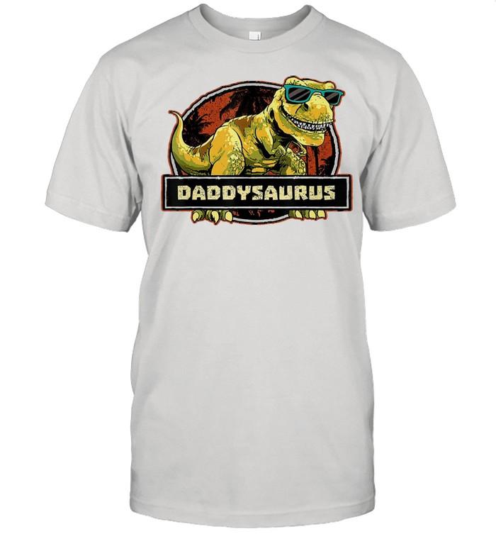 Dinosaur father shirt Classic Men's T-shirt