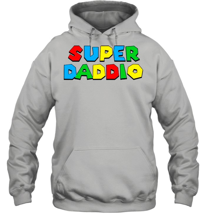 2021 Super Daddio Happy Father's Day shirt Unisex Hoodie