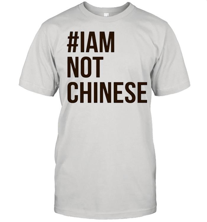 I am not Chinese shirt Classic Men's T-shirt
