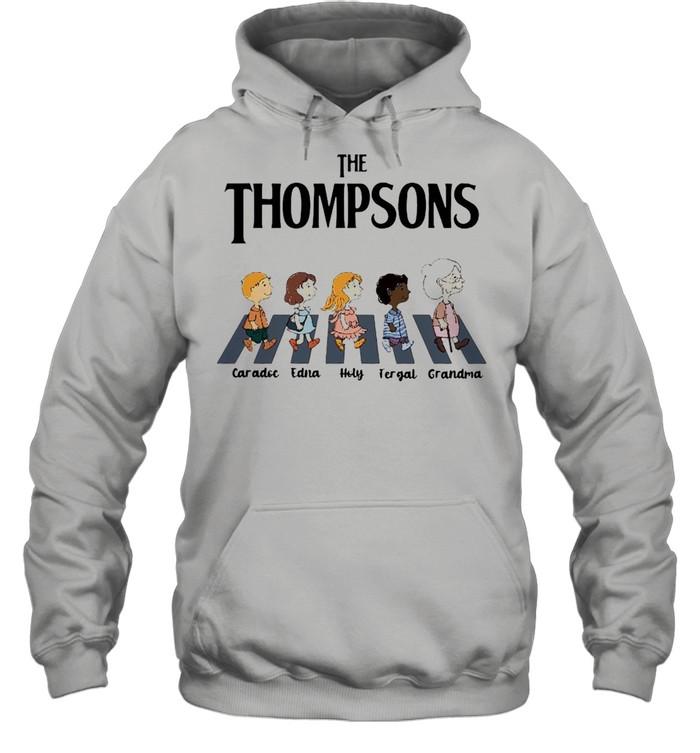 The Thompsons Caradoc Edna Holy Fergal Grandma abbey road shirt Unisex Hoodie