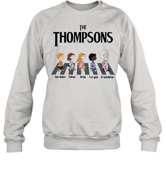 The Thompsons Caradoc Edna Holy Fergal Grandma abbey road shirt Unisex Sweatshirt