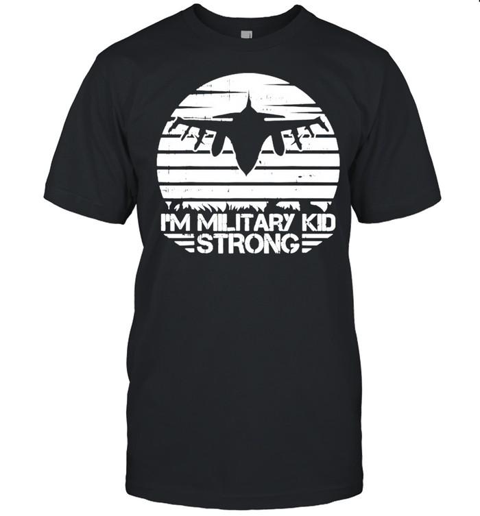 Im military kid strong shirt Classic Men's T-shirt