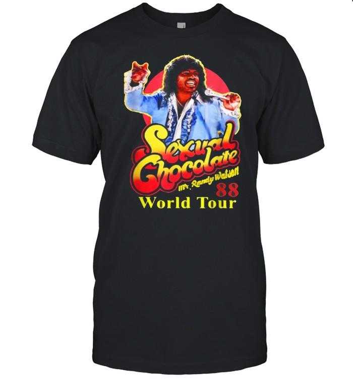 Mr Randy Watson Loves Sexual Chocolate World Tour  Classic Men's T-shirt