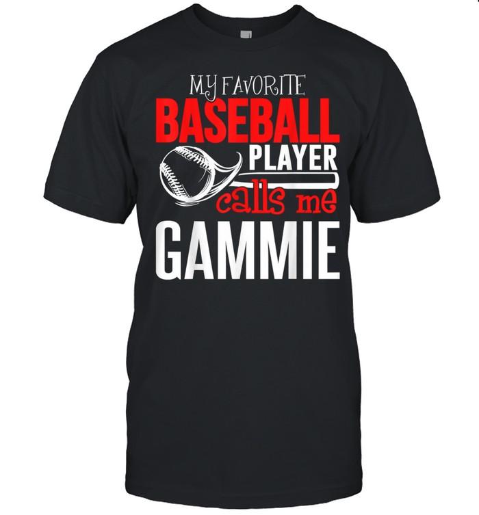 My Favorite Player Calls Me Baseball Gammie  Classic Men's T-shirt