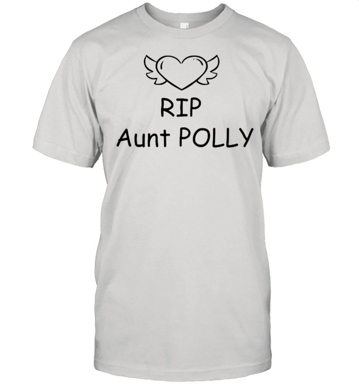 Rip Aunt Polly Helen Mccrory Heart  Classic Men's T-shirt