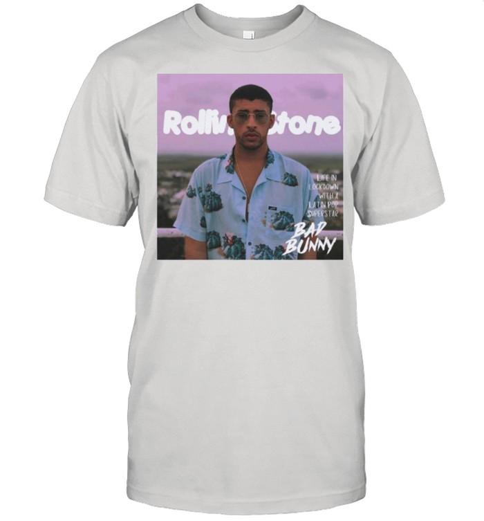 Rolling Stone bad bunny shirt Classic Men's T-shirt