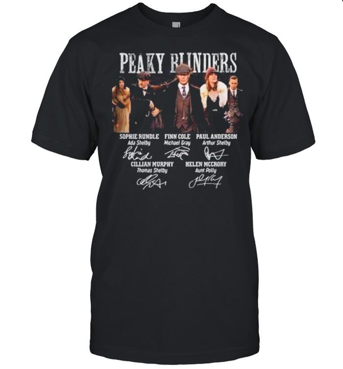 The Peaky Runders RIP Helen Mccrory 52 Year Signatures shirt Classic Men's T-shirt