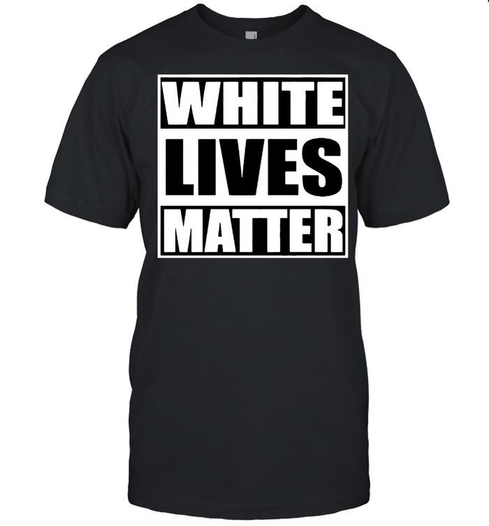 White lives matter shirt Classic Men's T-shirt