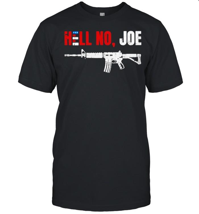 Joe Biden Hell No Joe  Classic Men's T-shirt