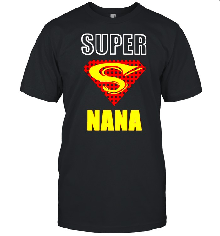 Superman Super Nana shirt Classic Men's T-shirt
