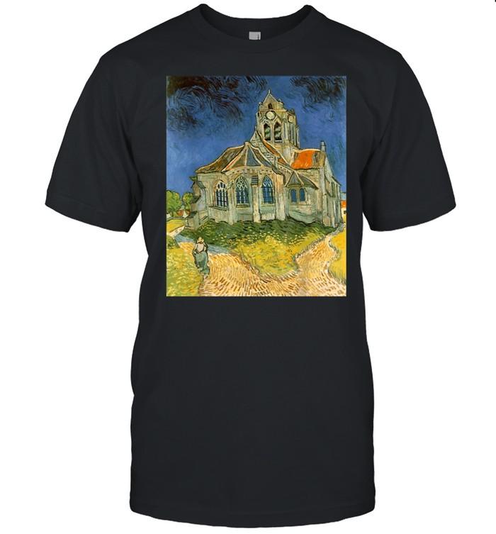 Vincent van Gogh's L'eglise d'Auvers sur Oise shirt Classic Men's T-shirt