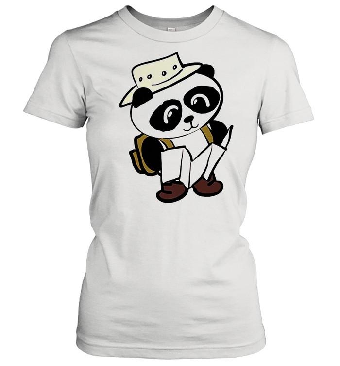 Adventure panda shirt Classic Women's T-shirt
