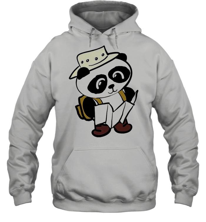 Adventure panda shirt Unisex Hoodie