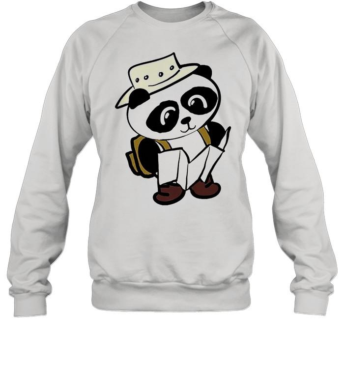 Adventure panda shirt Unisex Sweatshirt