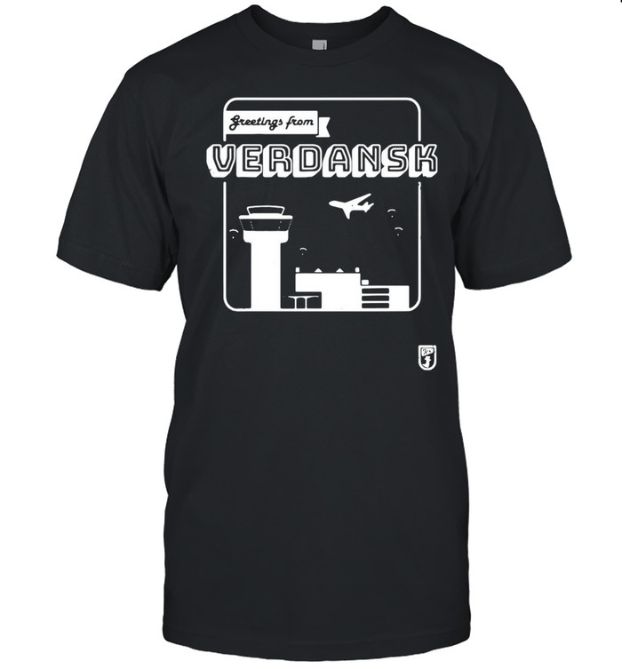 Greetings From Verdansk T-shirt Classic Men's T-shirt