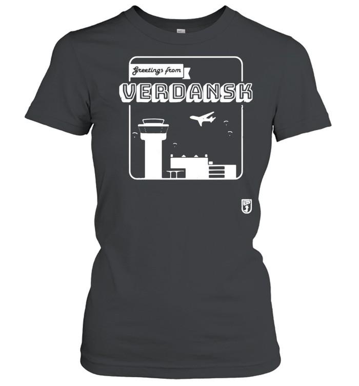 Greetings From Verdansk T-shirt Classic Women's T-shirt