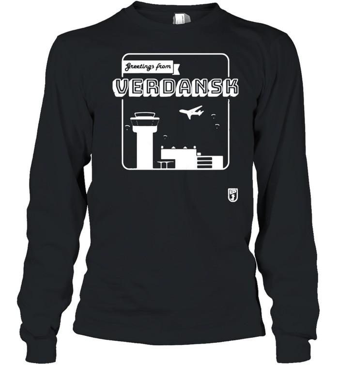 Greetings From Verdansk T-shirt Long Sleeved T-shirt