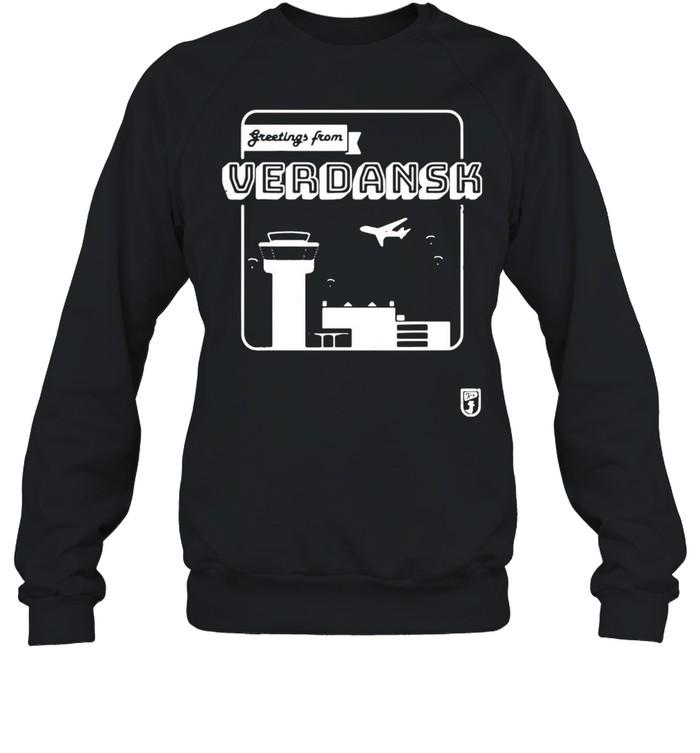 Greetings From Verdansk T-shirt Unisex Sweatshirt