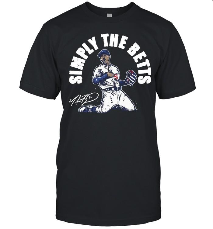 Mookie Betts simply the betts signature shirt Classic Men's T-shirt