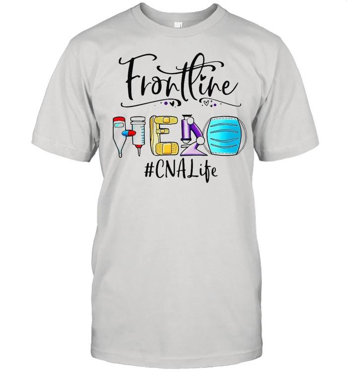 Frontline Hero Face Mask CNA Life T-shirt Classic Men's T-shirt