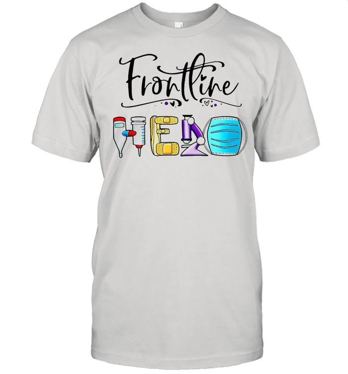 Frontline Hero Face Mask T-shirt Classic Men's T-shirt
