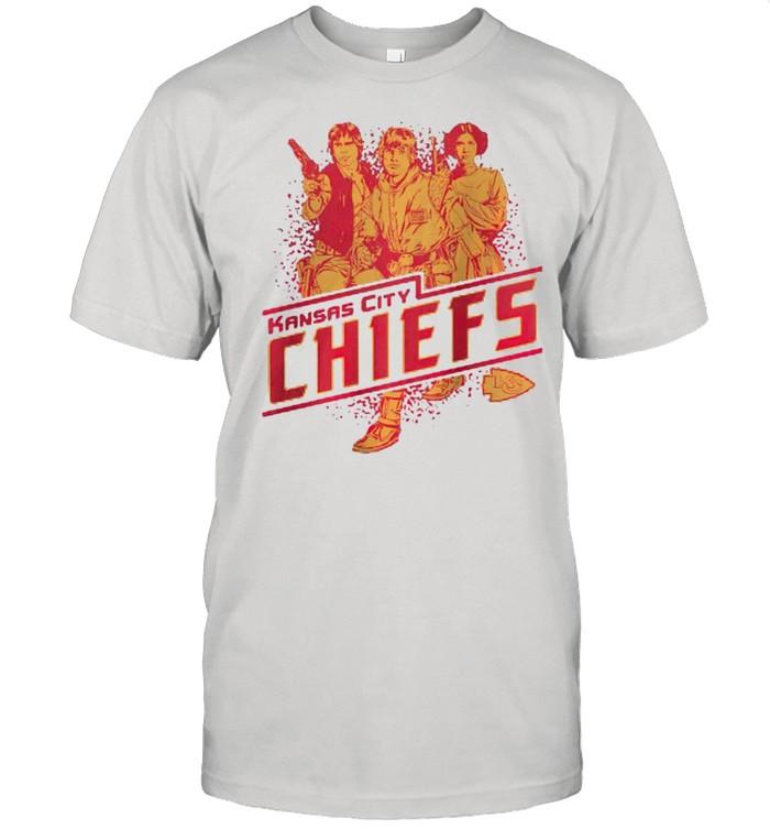 Kansas City Chiefs Rebels Star Wars shirt Classic Men's T-shirt