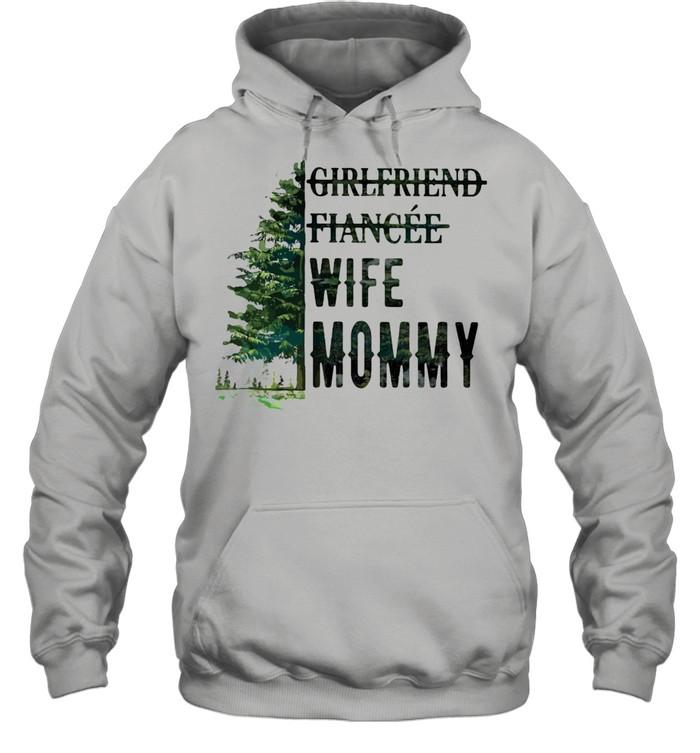 Girlfriend Fiancee Wife Mommy Unisex Hoodie