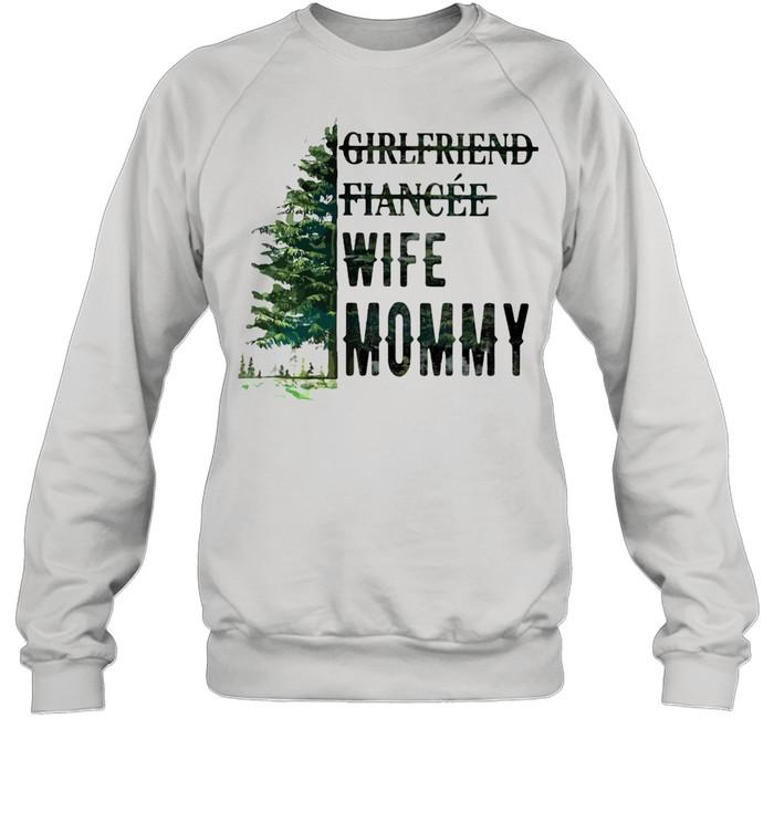 Girlfriend Fiancee Wife Mommy Unisex Sweatshirt