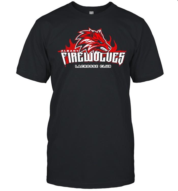 Albany fire wolves lacrosse club shirt Classic Men's T-shirt