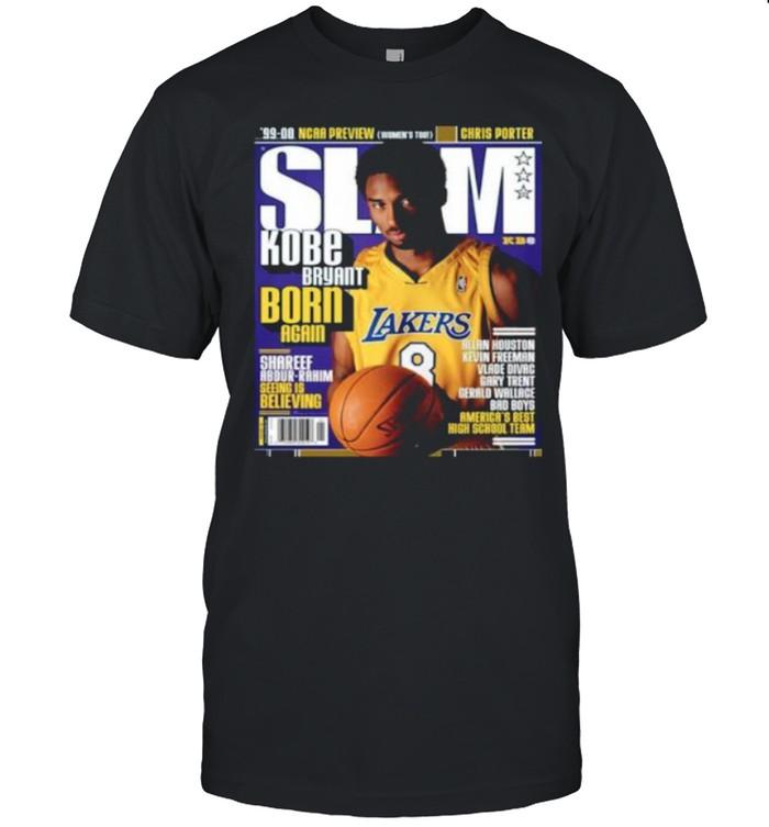 SLAM Kobe Bryant Born Again Los Angeles Lakers shirt Classic Men's T-shirt