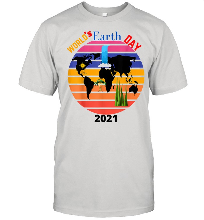 World's Earth's Day 2021 vintage  Classic Men's T-shirt