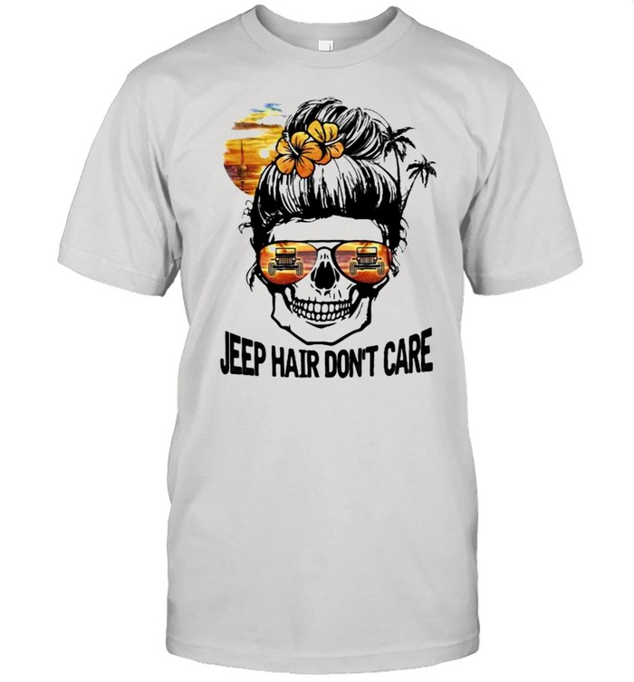 Jeep Hair Don't Care Skull  Classic Men's T-shirt