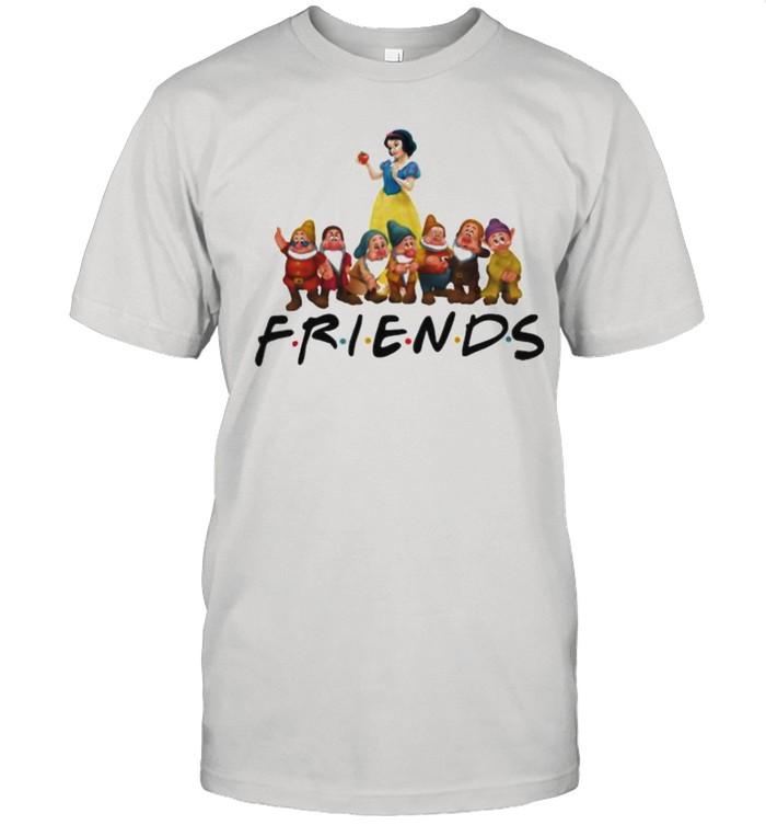 Snow White Friends Disney  Classic Men's T-shirt