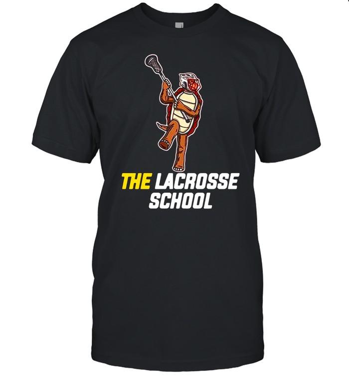 Turtle the lacrosse school shirt Classic Men's T-shirt