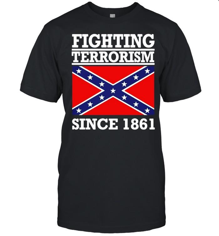 Fighting terrorism since 1861 shirt Classic Men's T-shirt