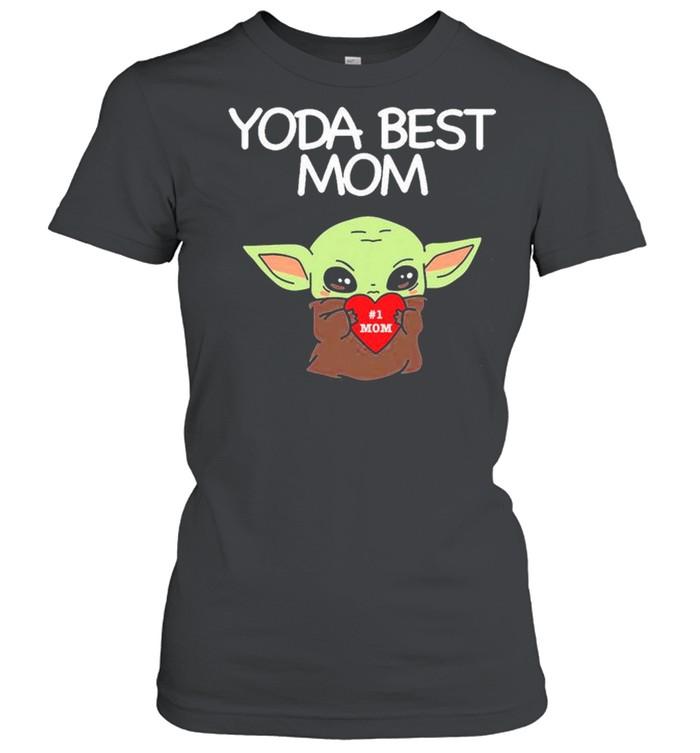 Yoda Best Mom shirt Classic Women's T-shirt