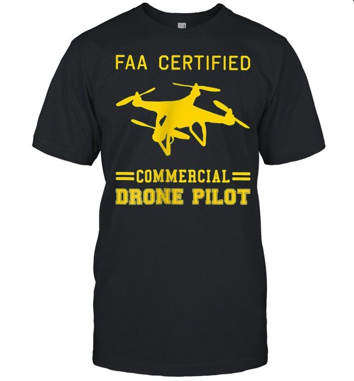Faa Certified Commercial Drone Pilot  Classic Men's T-shirt